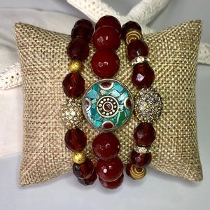 Handmade Three Bracelet Set